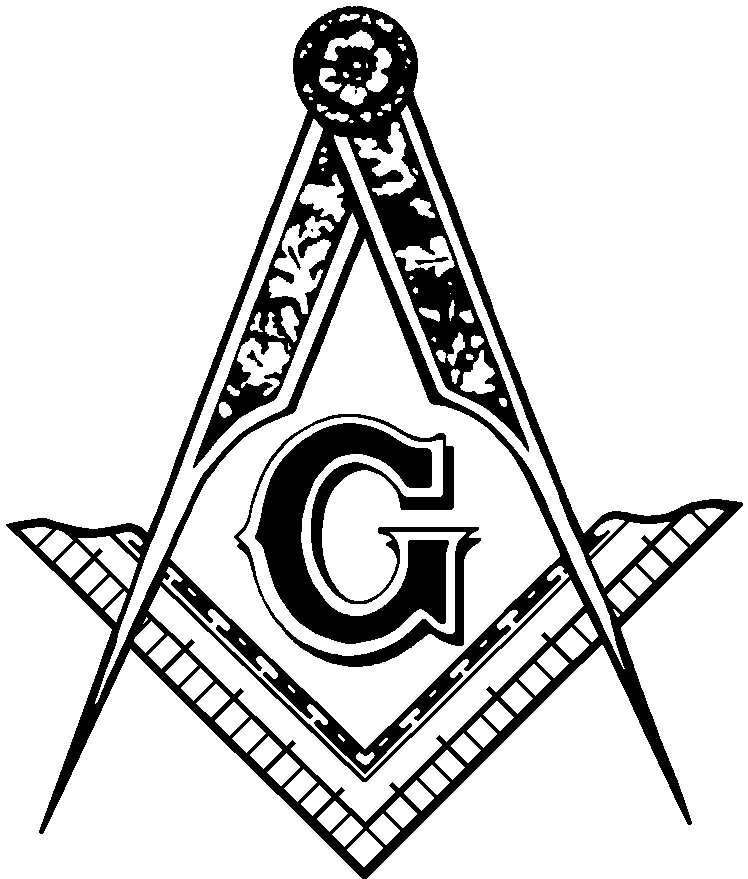 Masonic Clip Art and Freemason Symbols - Square and Compasses - Page 2