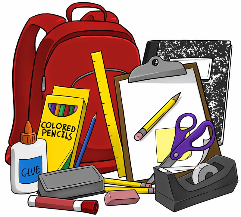 School Supplies Clip Art - Cliparts.co