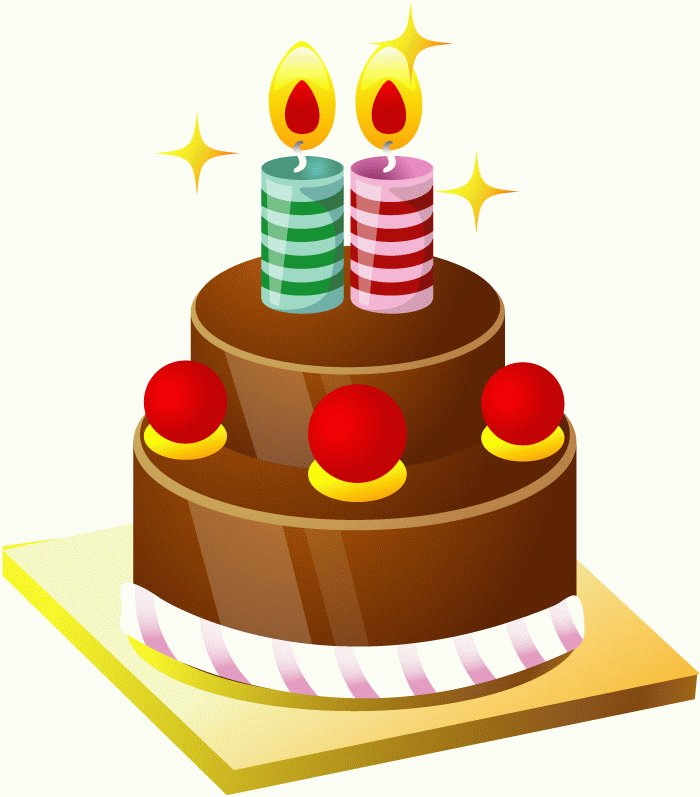 Vector Birthday Cake - Cliparts.co
