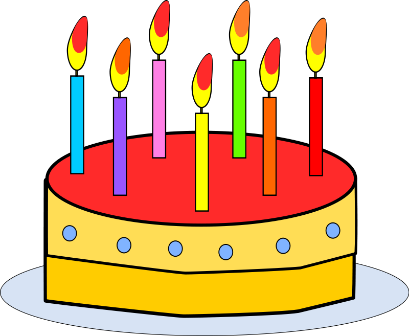 Free to Use & Public Domain Birthday Clip Art - Page 4