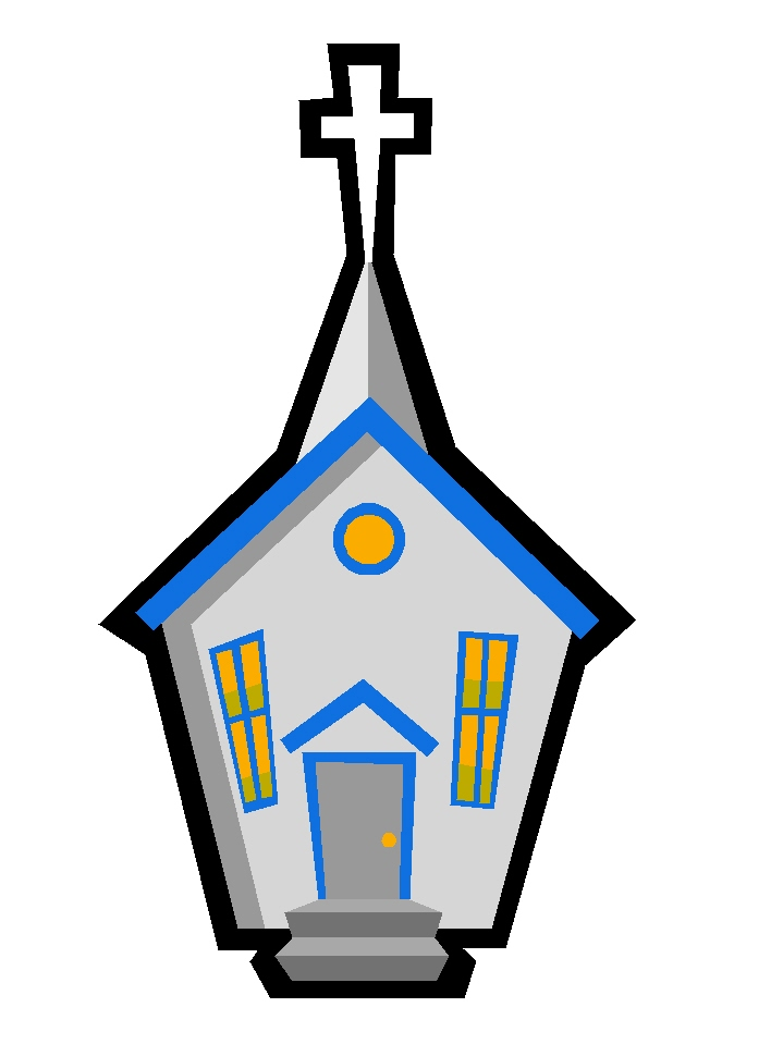 Church House Clipart Church Clip Art | StickyPictures
