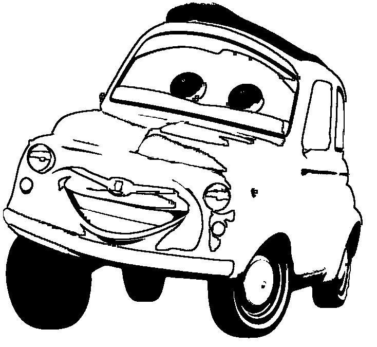 Malvorlagen Cars Luigi   My blog