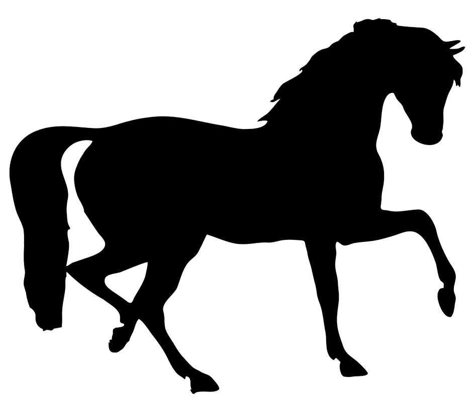 clip art dressage horse - photo #10