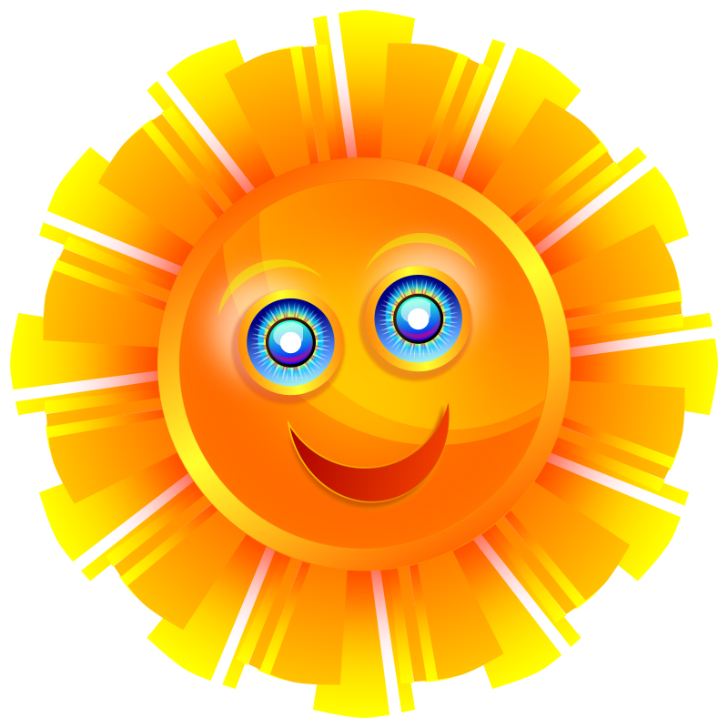 Free to Use & Public Domain Sun Clip Art