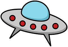 Color Guard Clip Art Free on Cartoon Ufo Alien