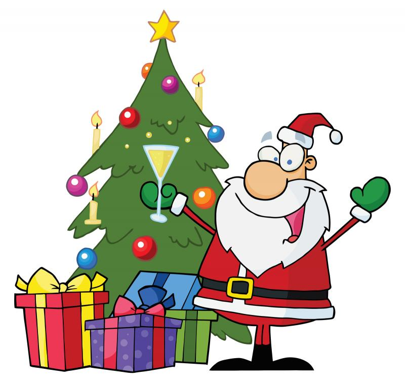 Christmas Tree Cartoon Clip Art