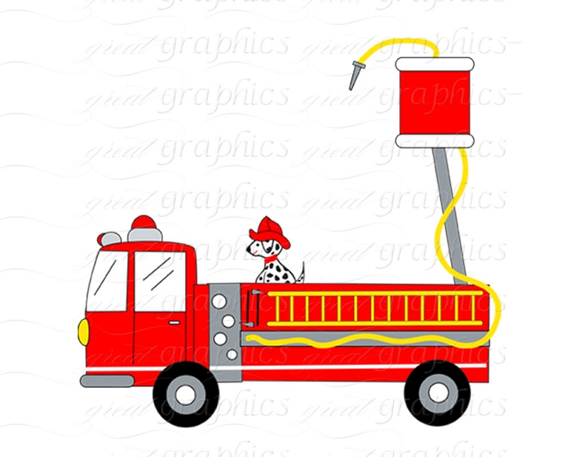 Clipart Fire Truck Cliparts Co
