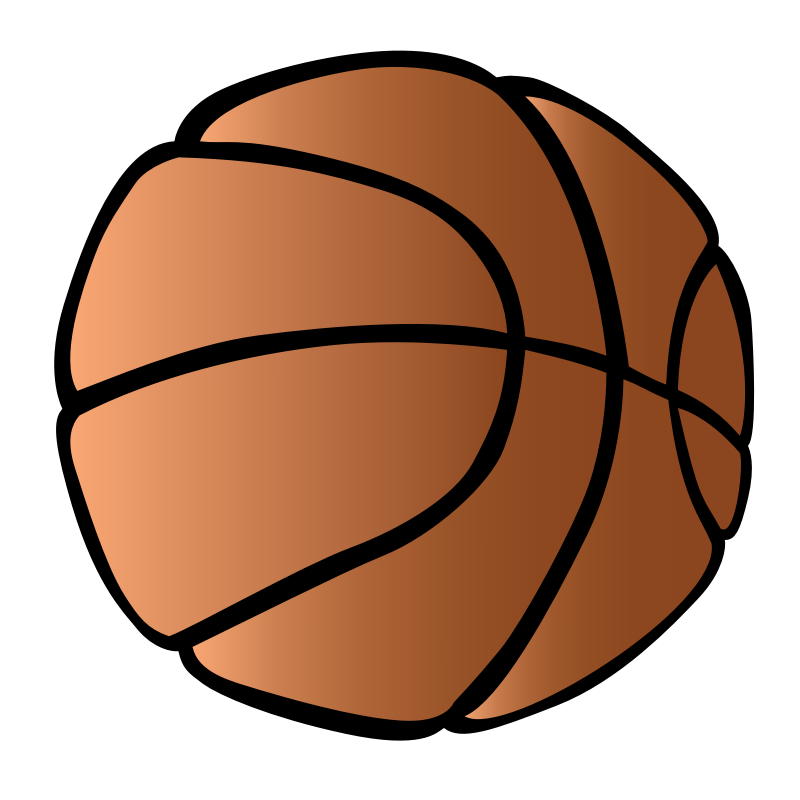 Clipart - Basketball