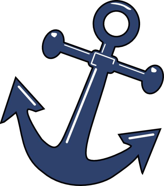 Navy Anchor Clip Art - Cliparts.co