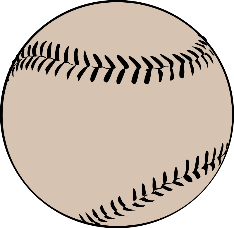Free Clipart Baseball Glove