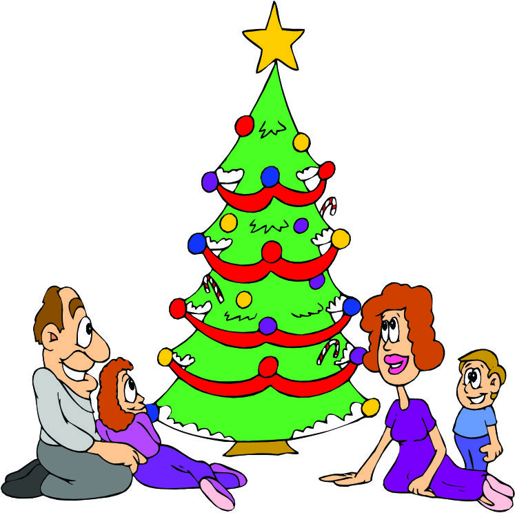 Cartoon Pictures Of Christmas Trees