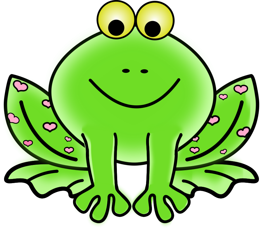Green Frog Clipart Clipart PNG file tag list