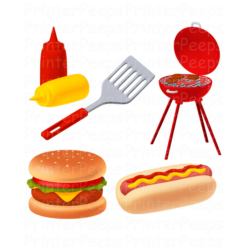 Barbecue Clip Art - Cliparts.co