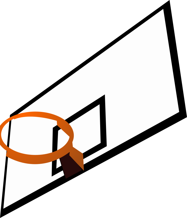 Basketball Court Clipart, vector clip art online, royalty free ...