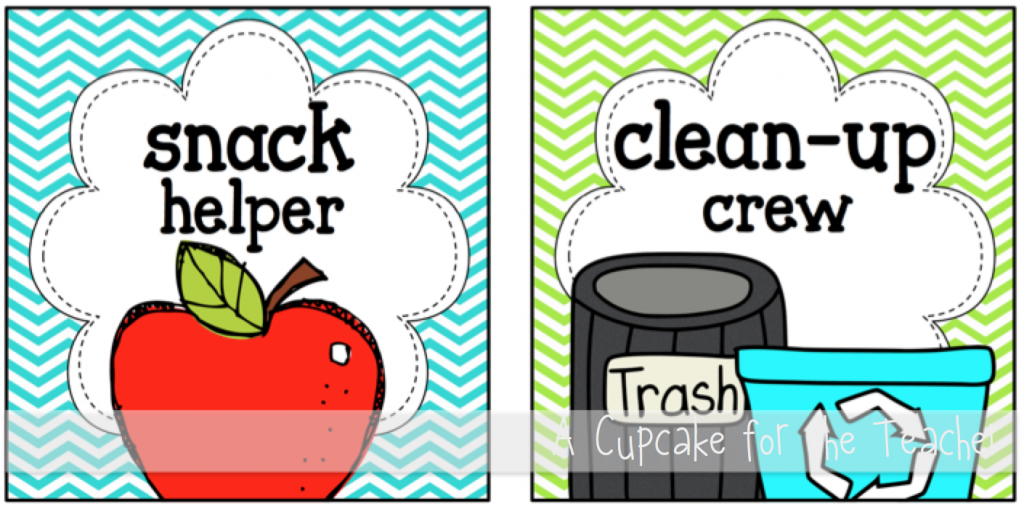 kindergarten clipart classroom jobs - photo #41