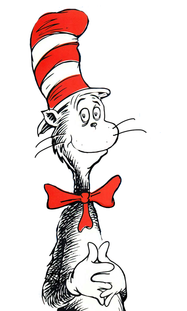 free clipart cat in the hat - photo #1