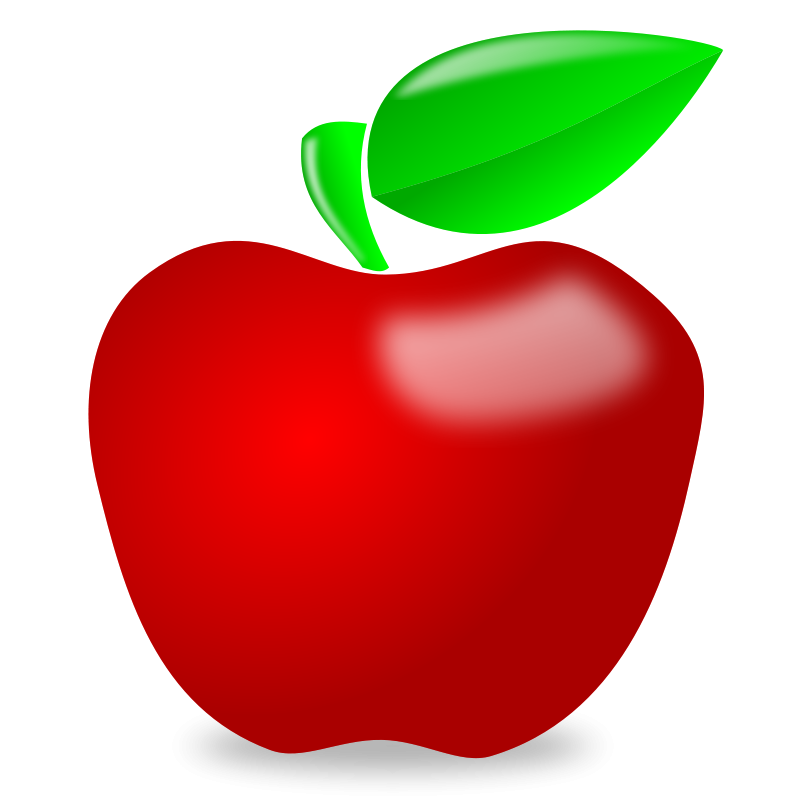 clipart apple worm - photo #18