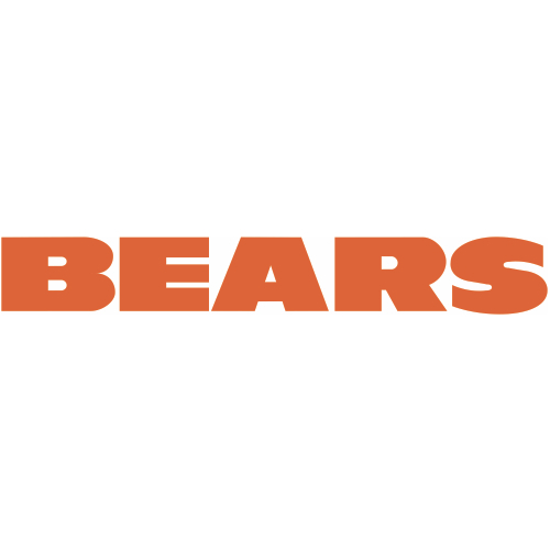 Chicago Bears Script Logo Iron On Sticker (Heat Transfer) Version ...