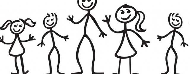stick people family clipartsco