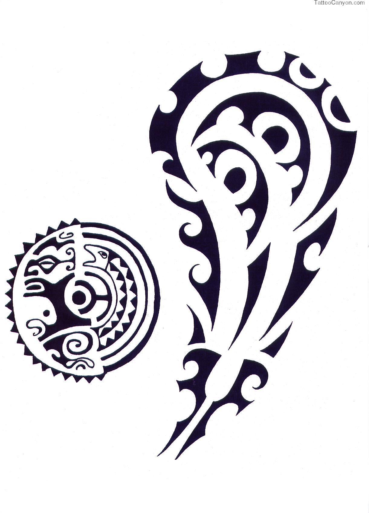 Полинезия тату эскизы на