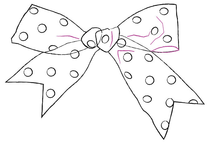 how to draw ribbons step by step
