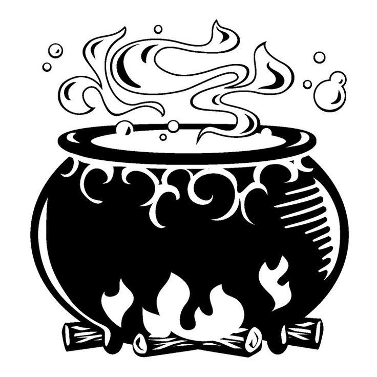 free halloween clipart witch cauldron - photo #34