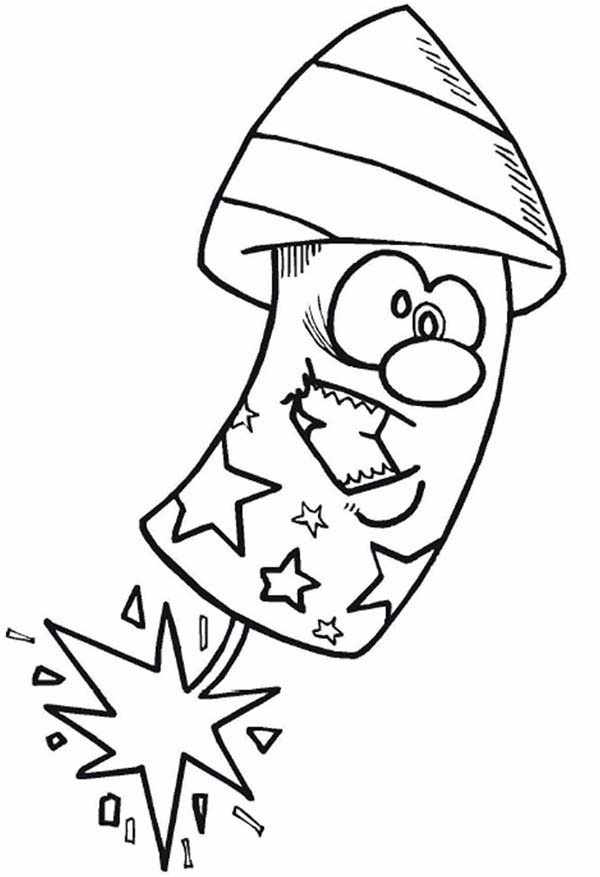 Cartoon Firecracker - Cliparts.co
