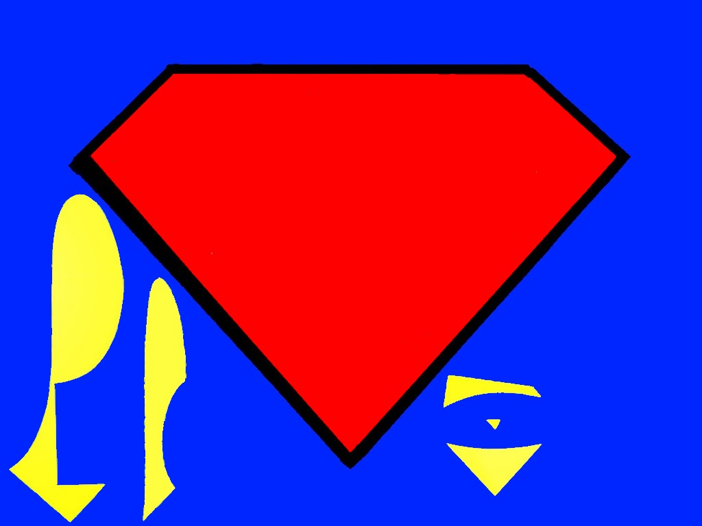 superman logo with different letters cliparts co Custom Superman Logo create superman logo with different letters