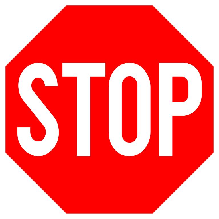 Stop sign template printable clipartsco for Stop sign templates