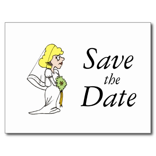 Save The Date Black And White Clipart - Clipart Kid