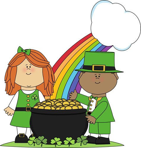 Saint Patrick's Day Children Clip Art - Saint Patrick's Day ...
