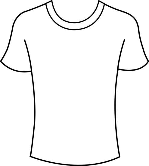 Shirt Clipart Black And White | Clipart Panda - Free ...