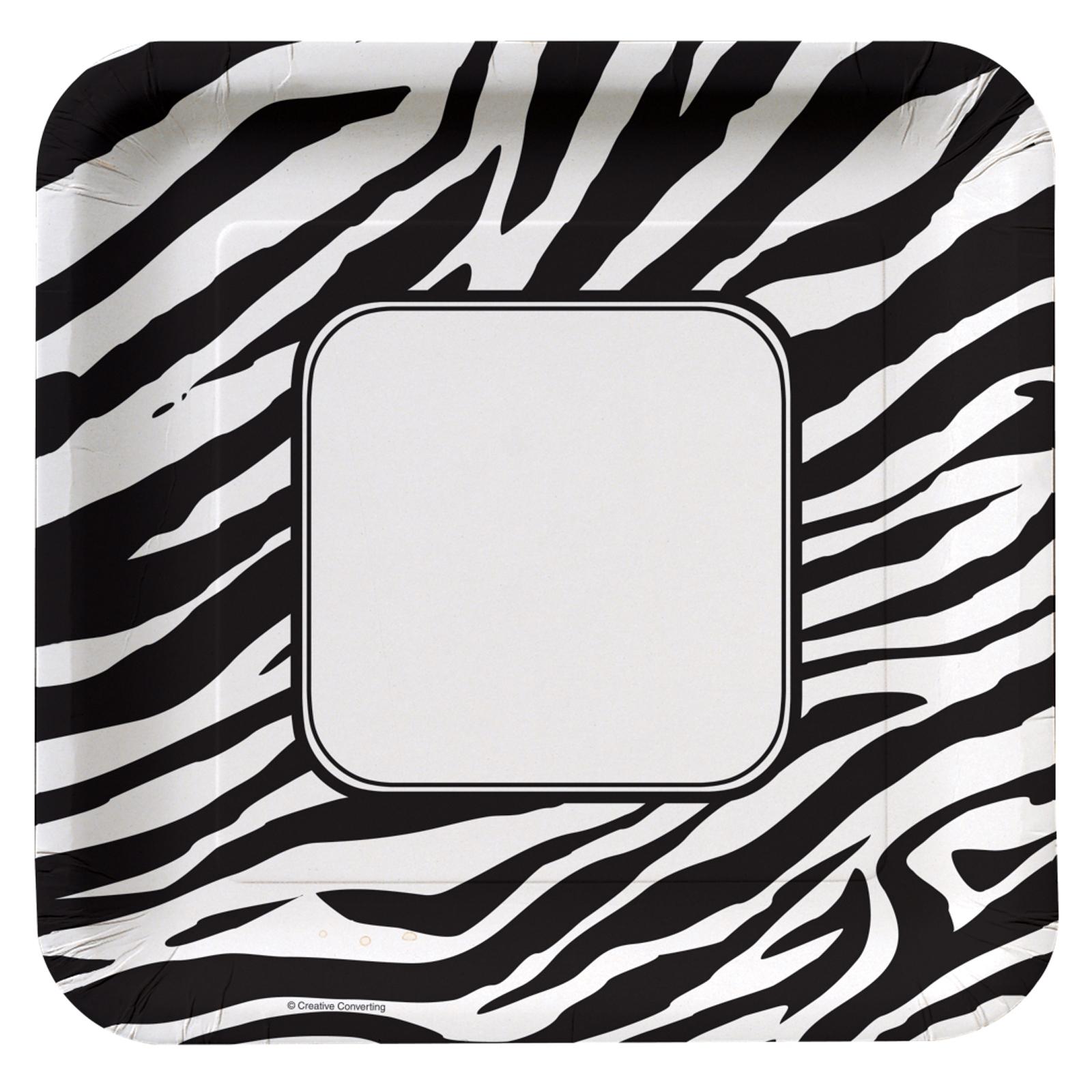 Zebra Print Border Clip Art - Cliparts.co