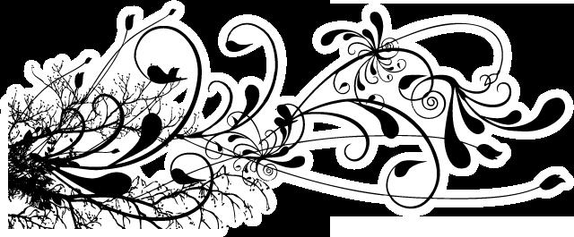 black and white swirl design clipartsco