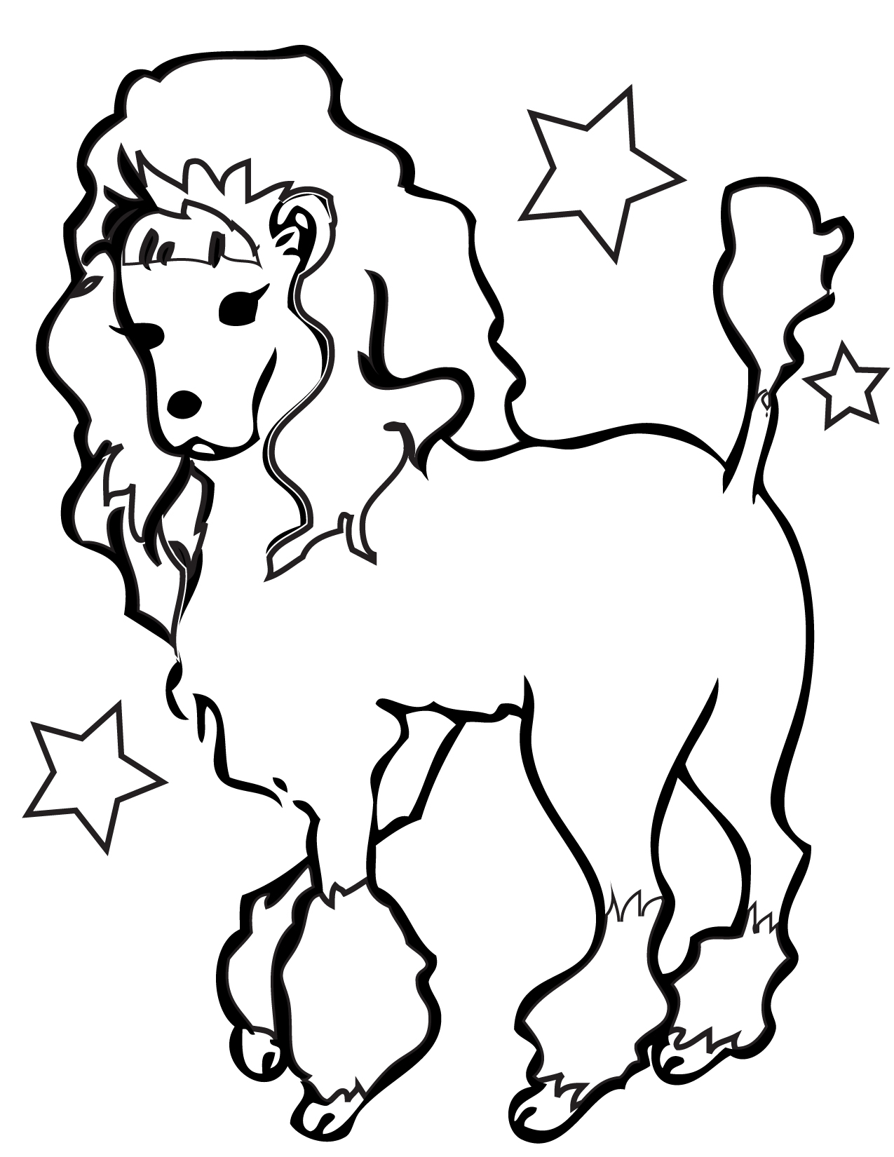 Co co coloring sheets free for kids - Co Co Coloring Pictures Dog Drawing Pictures Of Dogs Clipart Best