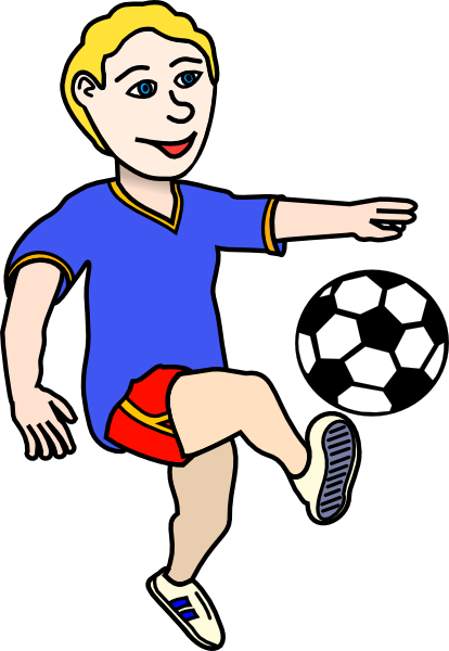 Kid Football Player Clipart | Clipart Panda - Free Clipart Images