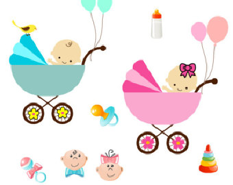 Popular items for stroller clipart on Etsy