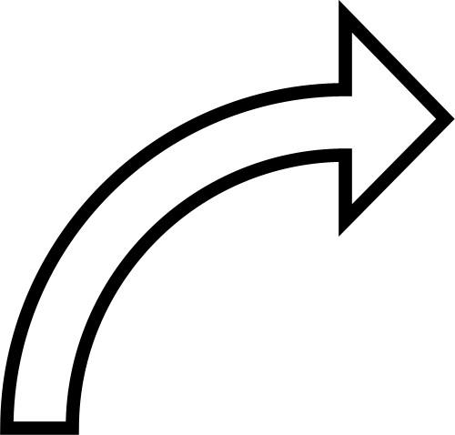 Curved Arrow Clip Art - Cliparts.co