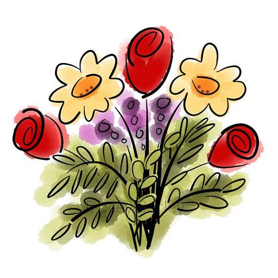 Flower Bouquet Clip Art - Cliparts.co