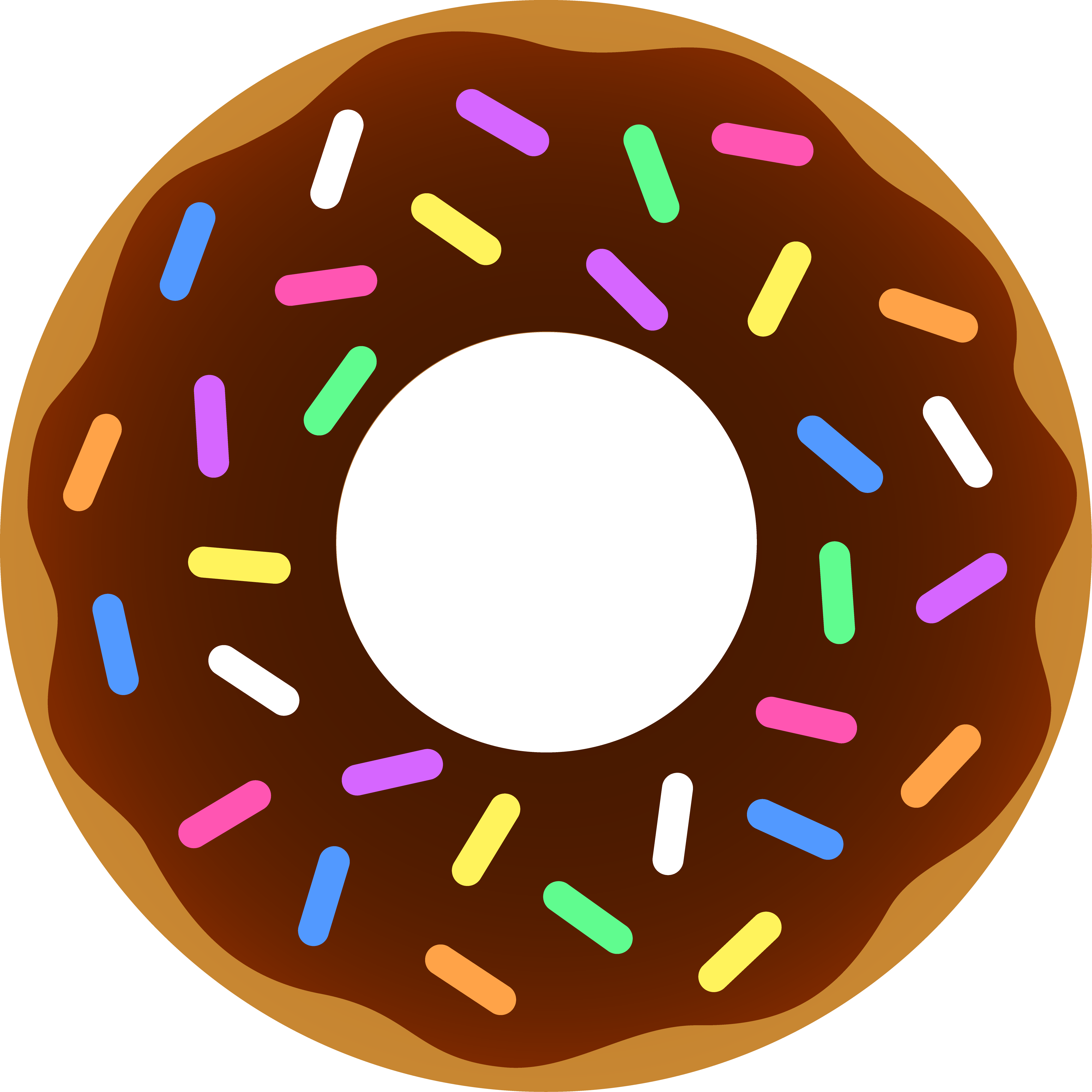 56 images of Donuts Clip Art . You can use these free cliparts for ...