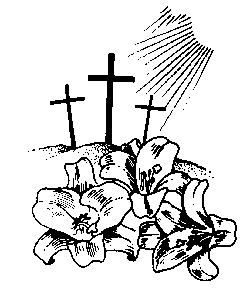 christian clipart free black and white - photo #33