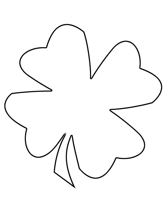 Download Four Leaf Clover Interesting Coloring Pages Or Print Four ...