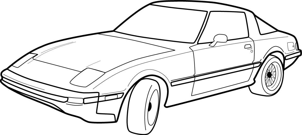 Car Outline Images amp Pictures Becuo