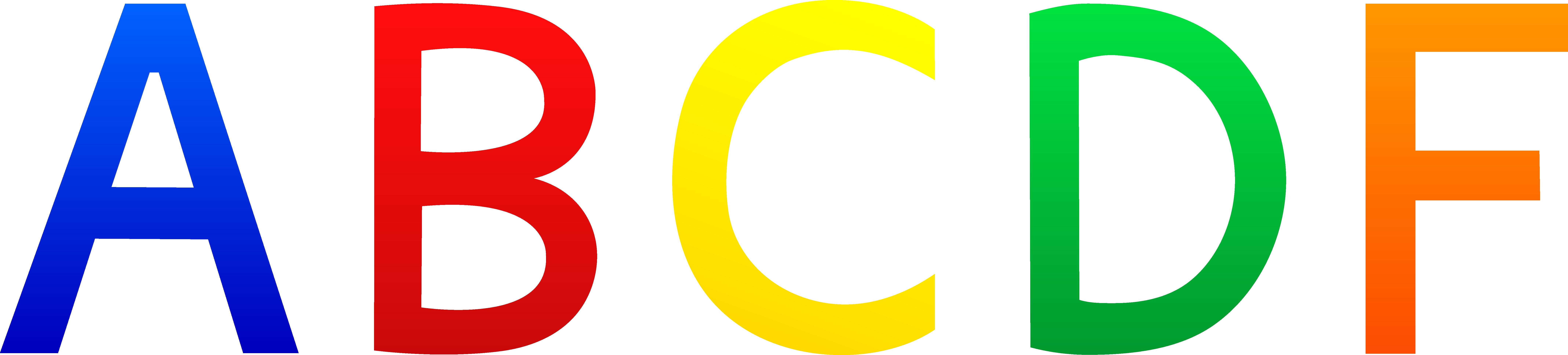 Free Clip Art Letters