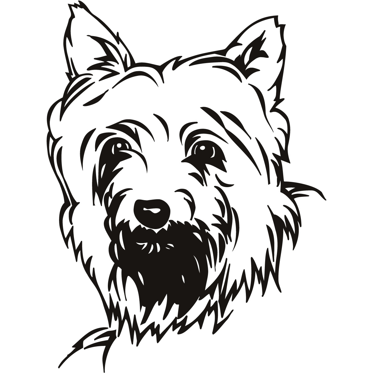 Yorkie Poo Coloring Pages - Coloring Pages