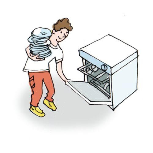 Dishwasher Clip Art ~ Unload dishwasher clipart