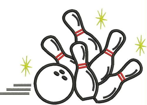Embroidery Designs Free Bowling