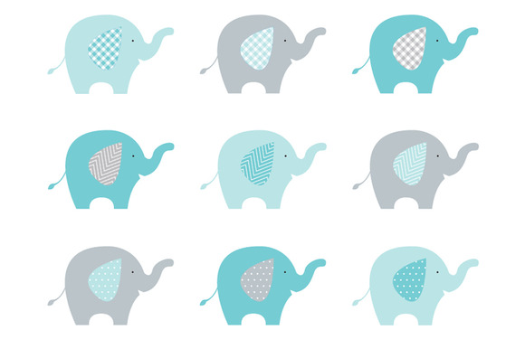 Baby Elephant Clip Art Baby Shower Pix For  Elephant Baby Shower