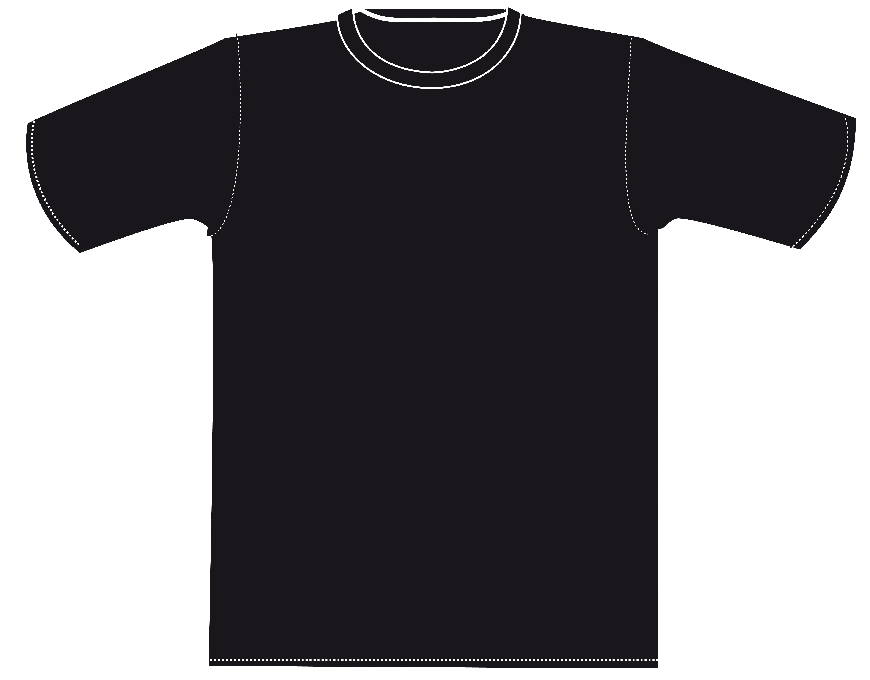 T Shirt Outline Cliparts Co