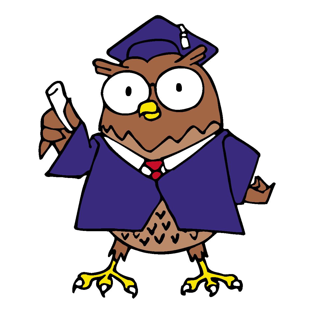 Owl Graduation Clipart | Clipart Panda - Free Clipart Images
